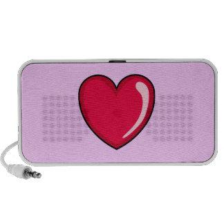 Red Heart Mini Speaker