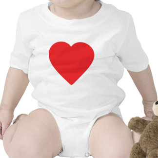red heart one baby bodysuit