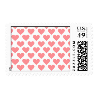 Red Heart Pattern Stamp