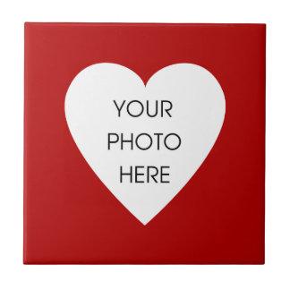 Red Heart Photo Frame Tile
