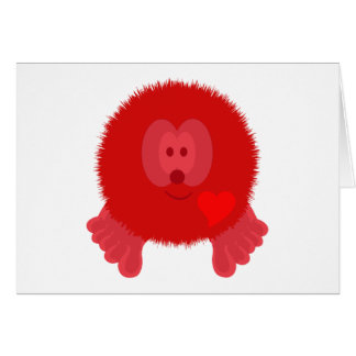 Red Heart Pom Pom Pal Card