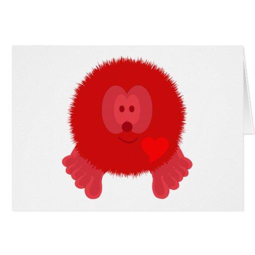 Red Heart Pom Pom Pal Card