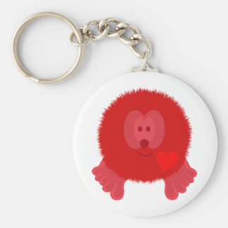 Red Heart Pom Pom Pal Keychain
