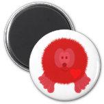 Red Heart Pom Pom Pal Magnet