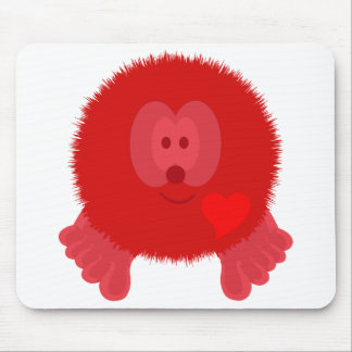 Red Heart Pom Pom Pal Mousepad