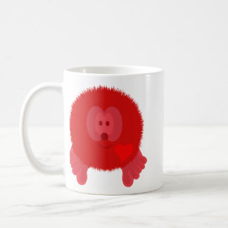 Red Heart Pom Pom Pal Mug