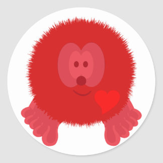 Red Heart Pom Pom Pal Stickers