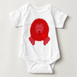 Red Heart Pom Pom Pal T-shirt