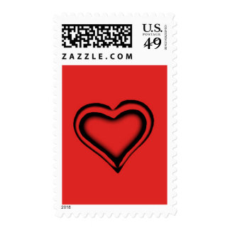Red Heart Stamp
