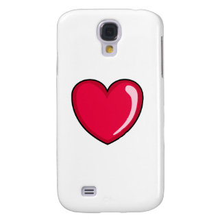Red Heart Samsung Galaxy S4 Cover