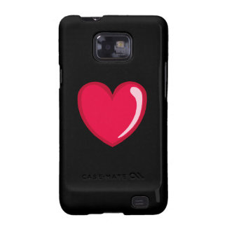 Red Heart Samsung Galaxy SII Cases