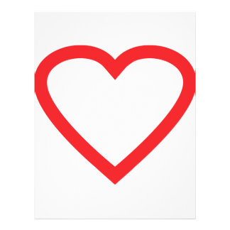 red heart symbol flyers