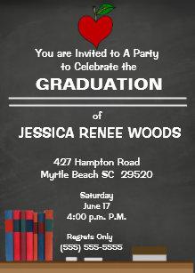 Teacher Graduation Invitations Zazzle