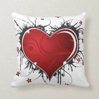 Red Hearts Pillows - Decorative & Throw Pillows Zazzle