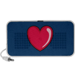 Red Heart Travelling Speakers