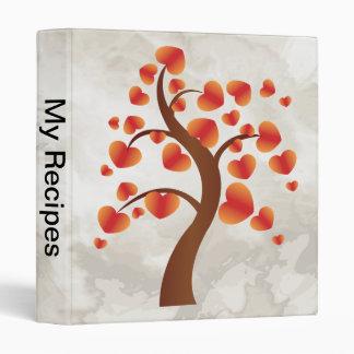 Red Heart Tree Binder