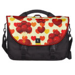 Red heart with balloons laptop computer bag