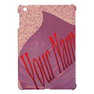 RED HEART WITH NAME YOU CAN GET WITHOUT NAME ALSO iPad MINI CASE