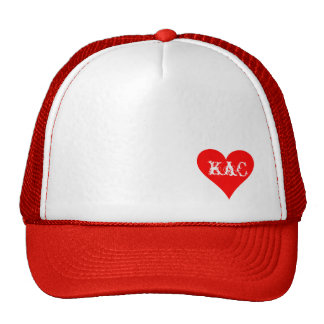 Red Hearted KaC hat