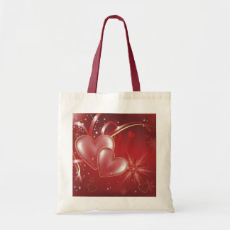 Red Hearts2 love relationships wallpaper Tote Bag