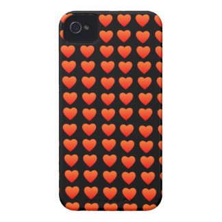 Red Hearts BlackBerry Bold Case-Mate