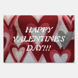 Valentines Day Yard Lawn Signs Zazzle