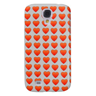 Red Hearts HTC Vivid phone case