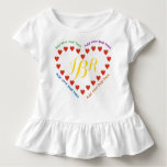 Red Hearts in a Heart Toddler T-shirt