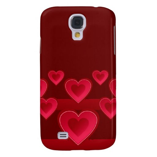 Red hearts iPhone 3G/3GS Speck case Samsung Galaxy S4 Cover