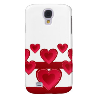 Red hearts iPhone 3G/3GS Speck case