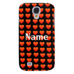 Red  hearts iPhone 3G/3GS Speck case Galaxy S4 Case