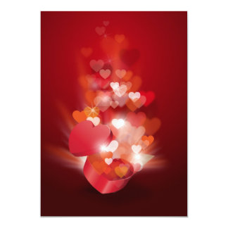 RED HEARTS LOVE GIFTS HAPPY RELATIONSHIPS CARD