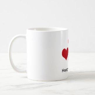 Red Hearts Mug mug