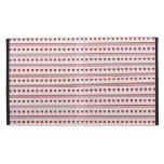 Red Hearts pattern  iPad Folio Case