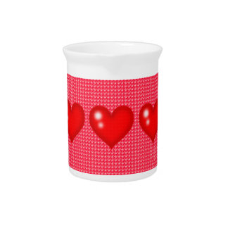 Red Hearts - Pitcher