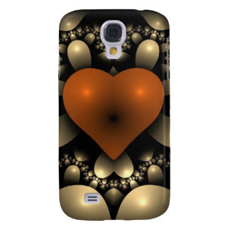Red hearts show you are in love samsung s4 case