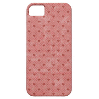 Red Hearts Valentine Heart Pattern iPhone 5/5S Case