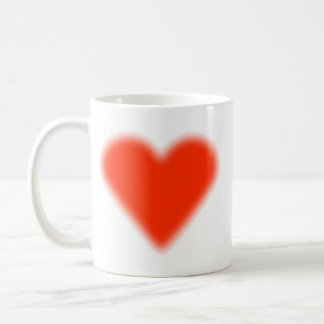 Red heartwood of beech coffee mug