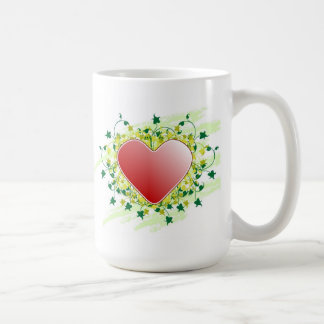 Red heartwood of beech of St-Valentine - Classic White Coffee Mug
