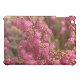 Red Heather flowers Case For The iPad Mini