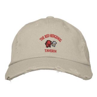 Red Hedgehog Tavern Embroidered Baseball Cap