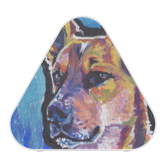Red Heeler Australian Cattle Dog Pop Art Speaker