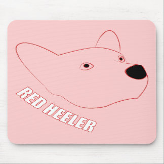 Red Heeler Mouse Pad