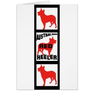Red Heeler Movie Film Strip Card