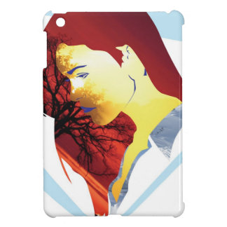 red heir girl case for the iPad mini