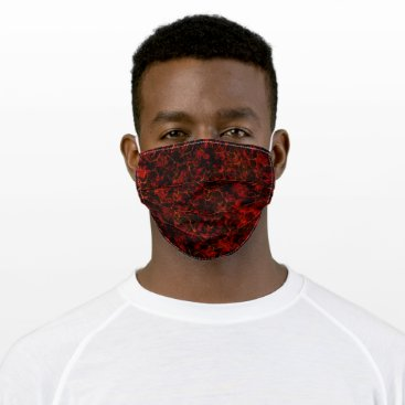 Red hell cloth face mask