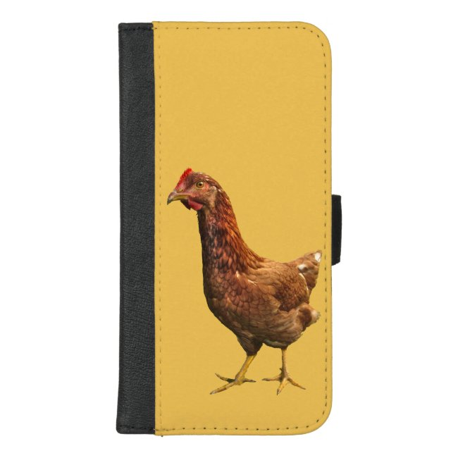 Red Hen Chicken iPhone 8/7 Plus Wallet Case