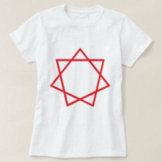 Red Heptagram T-shirt