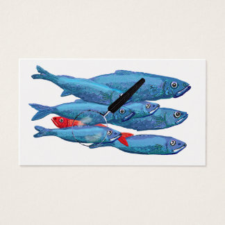 Red Herring Business Card