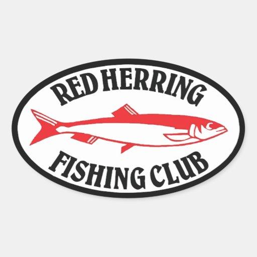 Red Herring Fishing Club Sticker